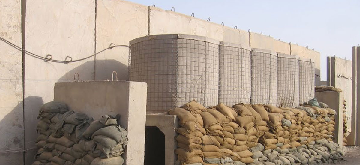 Concrete Defence Barriers Iraq